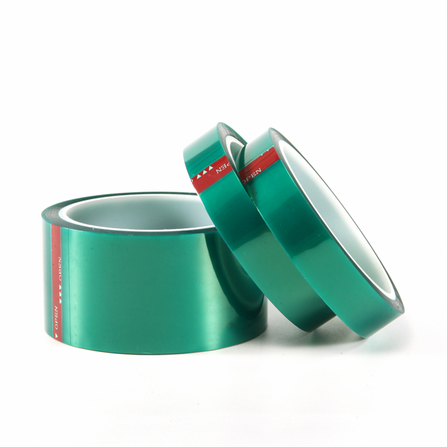 Green PET Silicone Tape