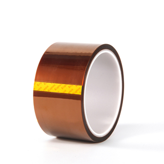 Amber polyimide tape