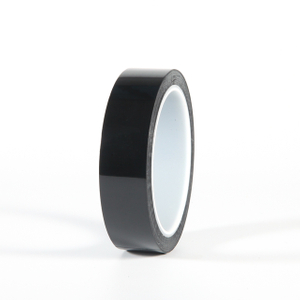 Black PET Silicone Tape