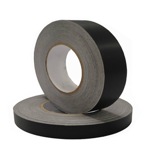 Black conductive cloth tape